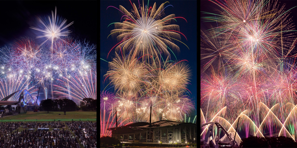 An incredible Fireworks Festival - one of the biggest in Japan!